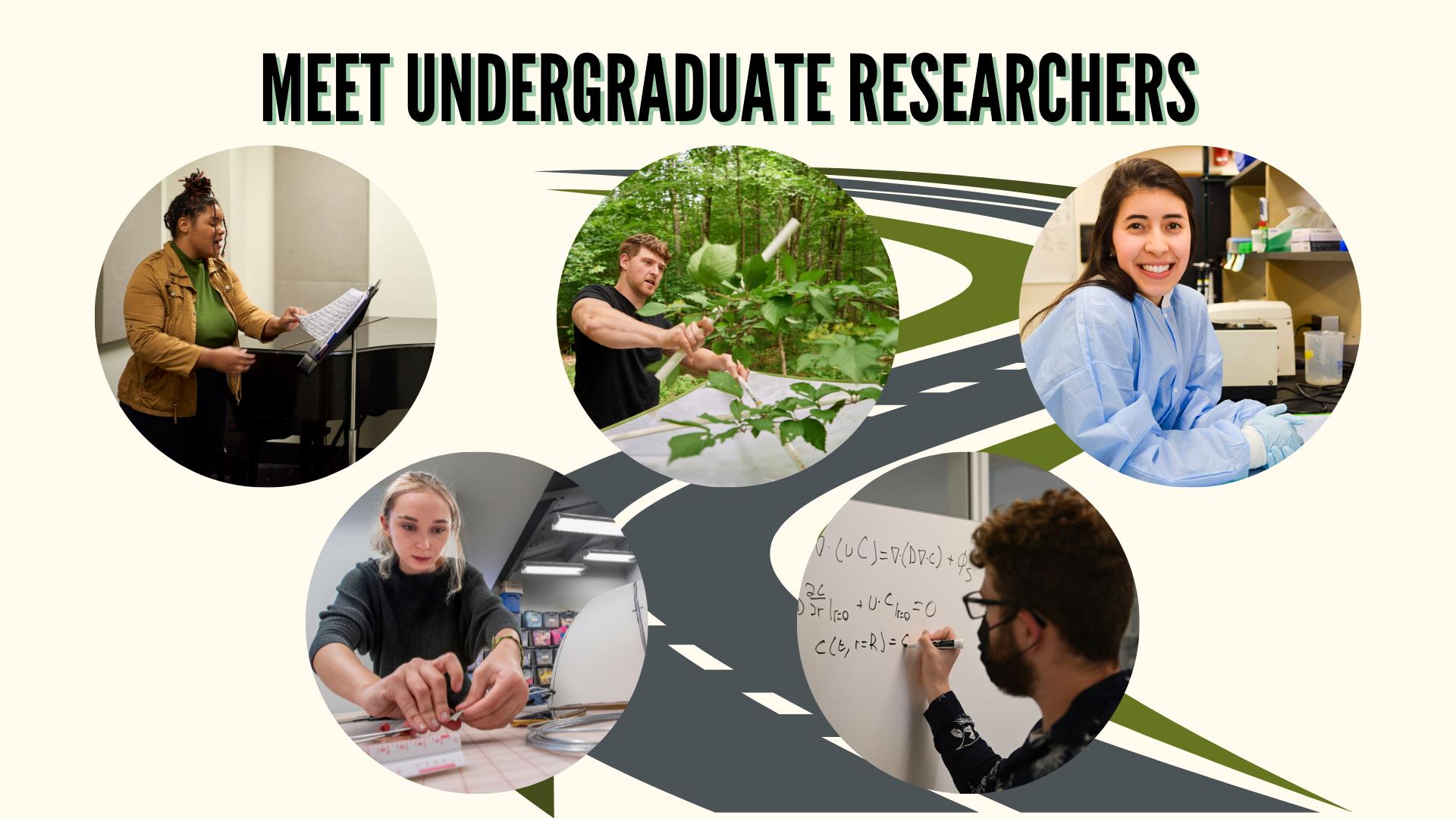 Meet undergraduate researchers